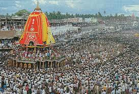 Puri Rath Yatra Festival